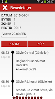 Screenshot of X-trafik