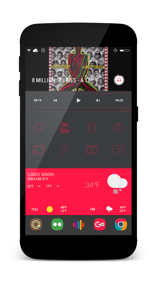 Elegante for KLWP Screenshot 6