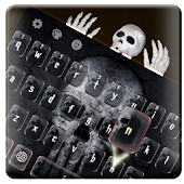 App Hell skull keyboard APK for Kindle
