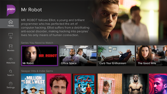 Presto for Android TV - screenshot