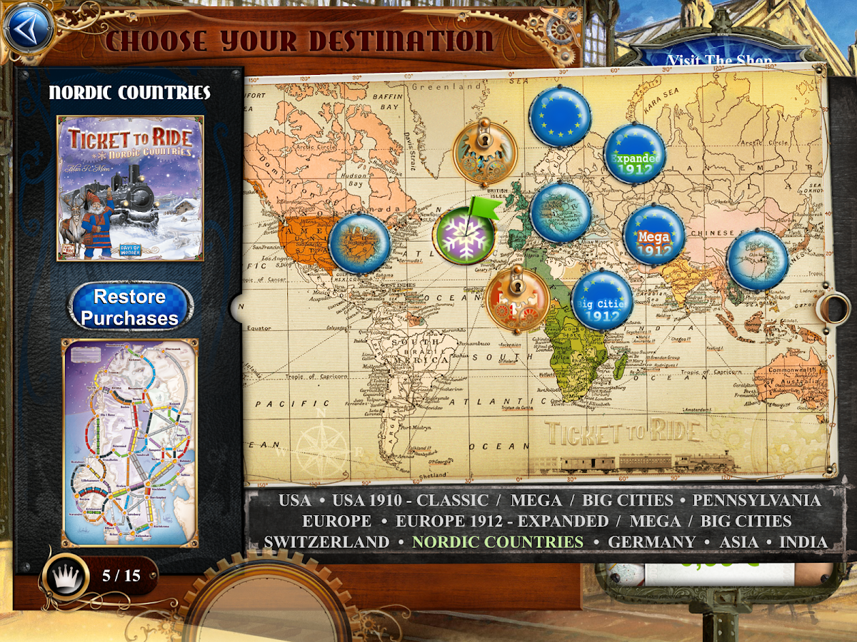 Ticket to Ride Screenshot 11