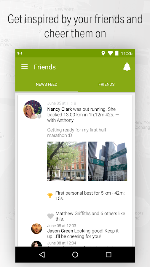 Endomondo - Running & Walking Screenshot 4