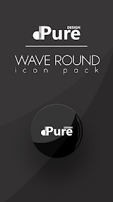Wave Round Icon Pack Apk Download Free for PC, smart TV