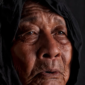 by Emil Zion Punzalan - People Portraits of Men ( senior citizen )