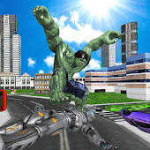 Incredible Monster Hero: Superhero City Battle