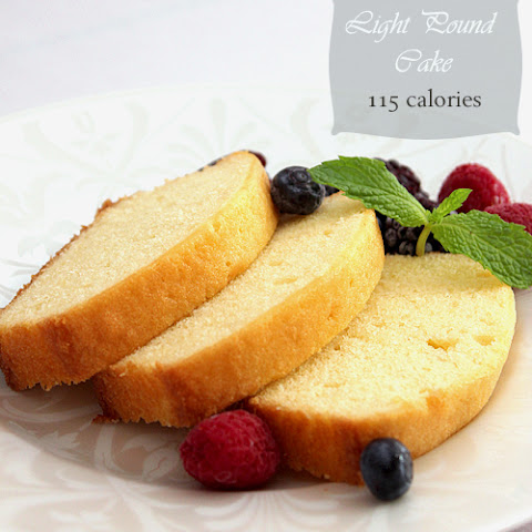 Light Pound Cake