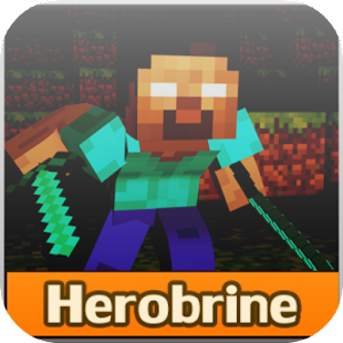 Herobrine Mod for Minecraft PE