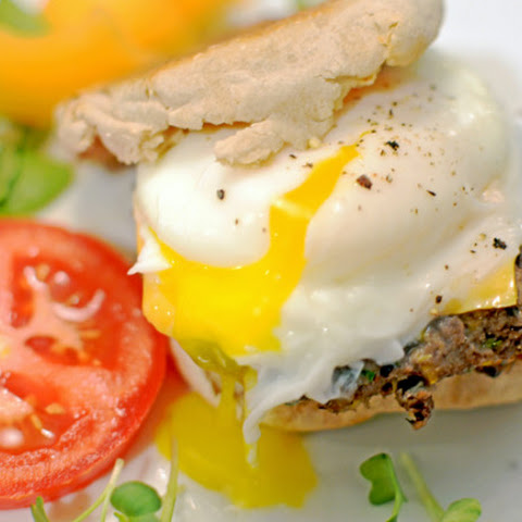 Black Bean Breakfast Sandwich - Meatless and High Protein