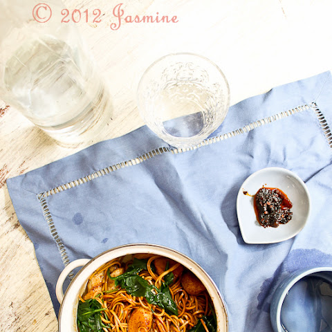 Healthy and Quick Soy Soba Noodles