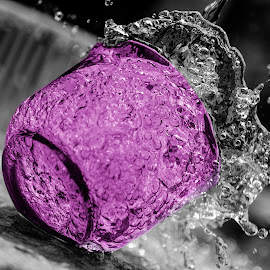 Zinfandel by Muhammad Nurnaaim - Abstract Water Drops & Splashes