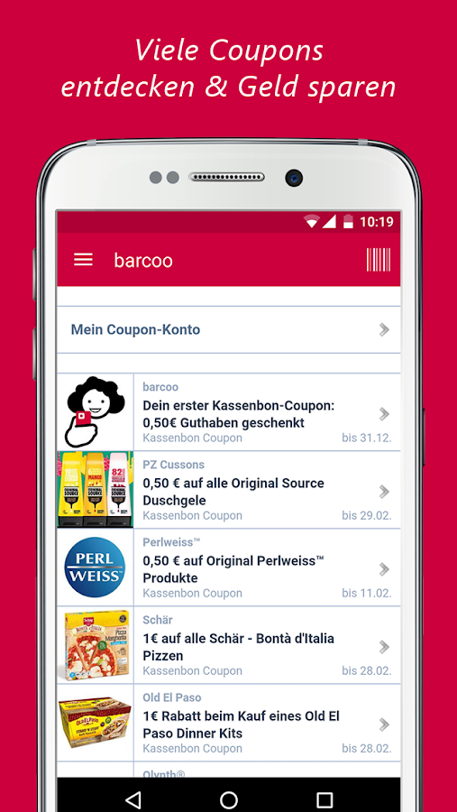barcoo Barcode & QR Scanner Screenshot 6