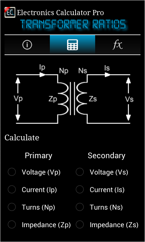 Electronics Calculator Pro Screenshot 1