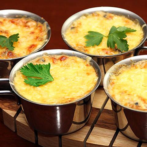 Wild Mushroom Soufflé with Rye Flour & Parmesan Recept | Yummly