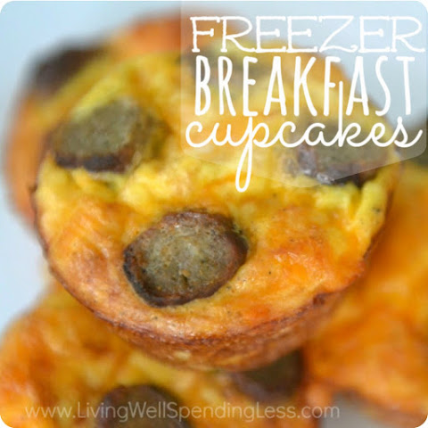 Freezer Breakfast Cupcakes