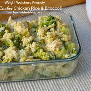Slow Cooker With Chicken And Broccoli Recipes