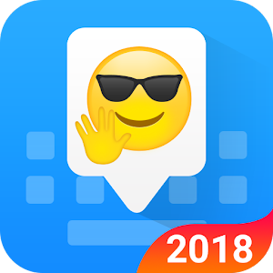 Facemoji Emoji Keyboard-Cute Emoji, Theme, Sticker Icon