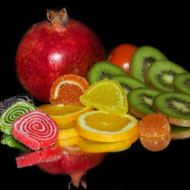 fruits with candy by LADOCKi Elvira - Food & Drink Fruits & Vegetables ( fruits )