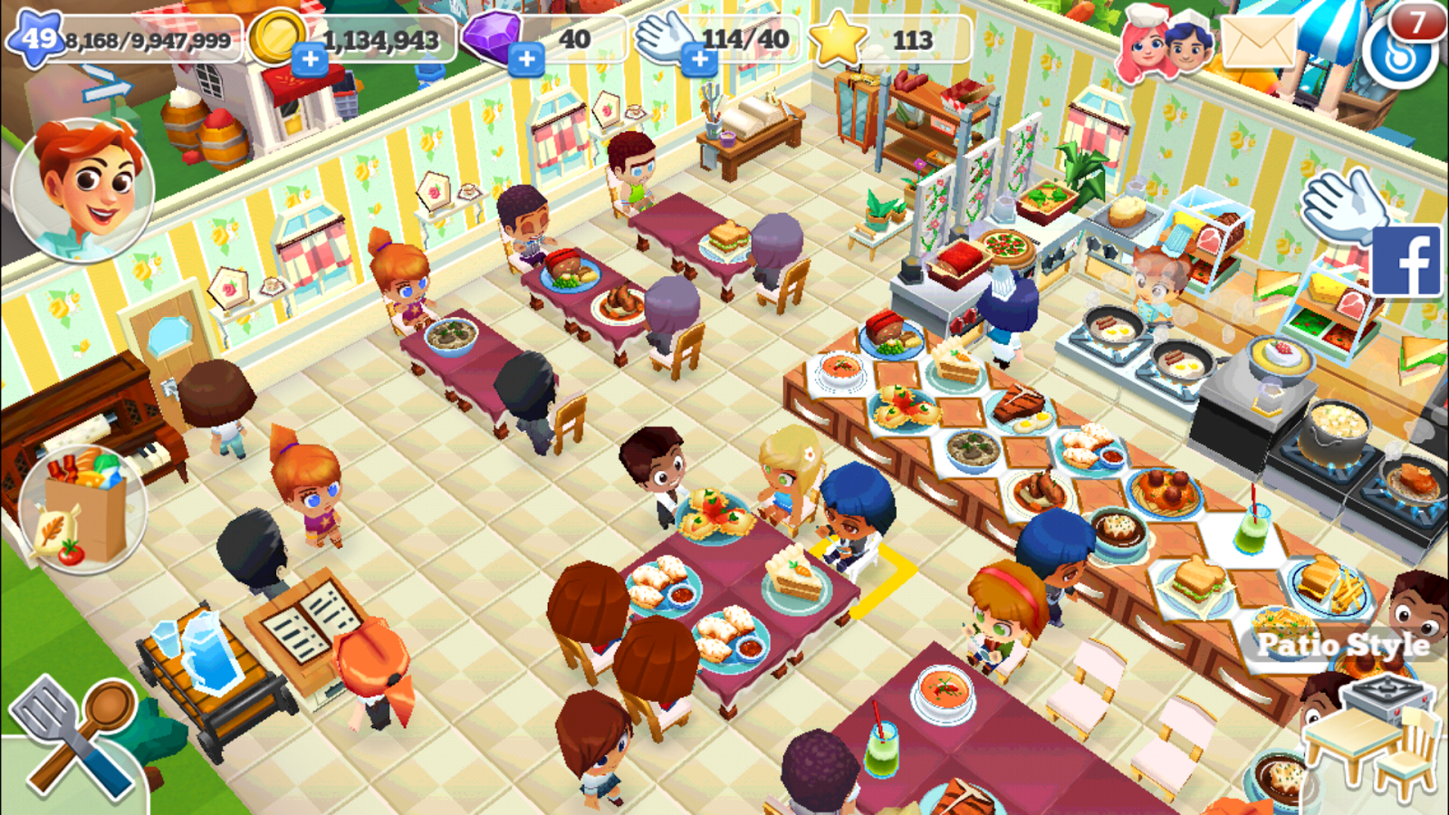Restaurant Story 2 Otome Play Anime Otome Games For Girls