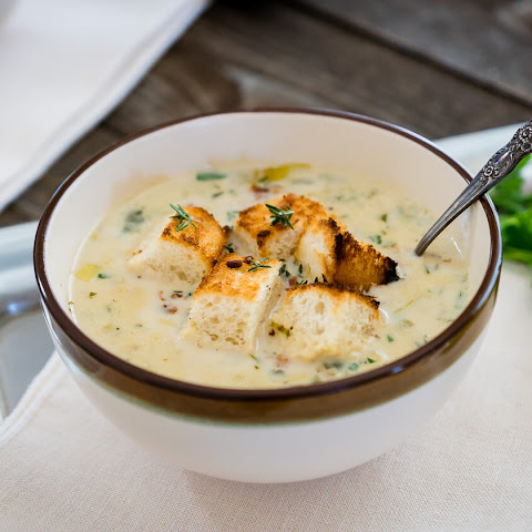 Lightened Irish Seafood Chowder