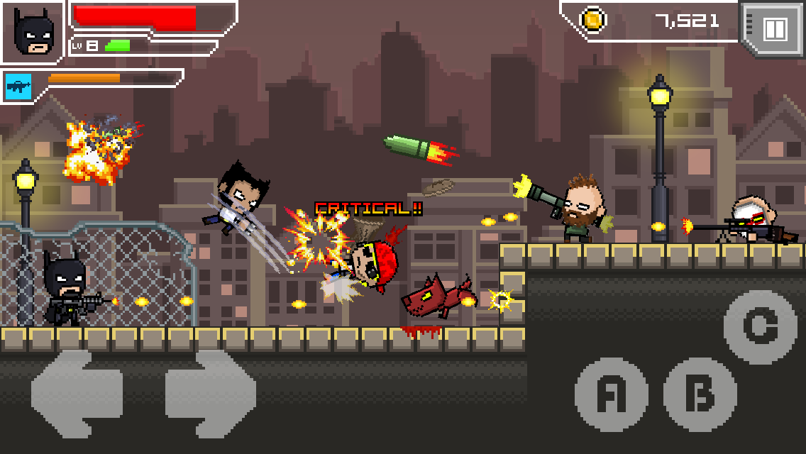 HERO-X Screenshot 6