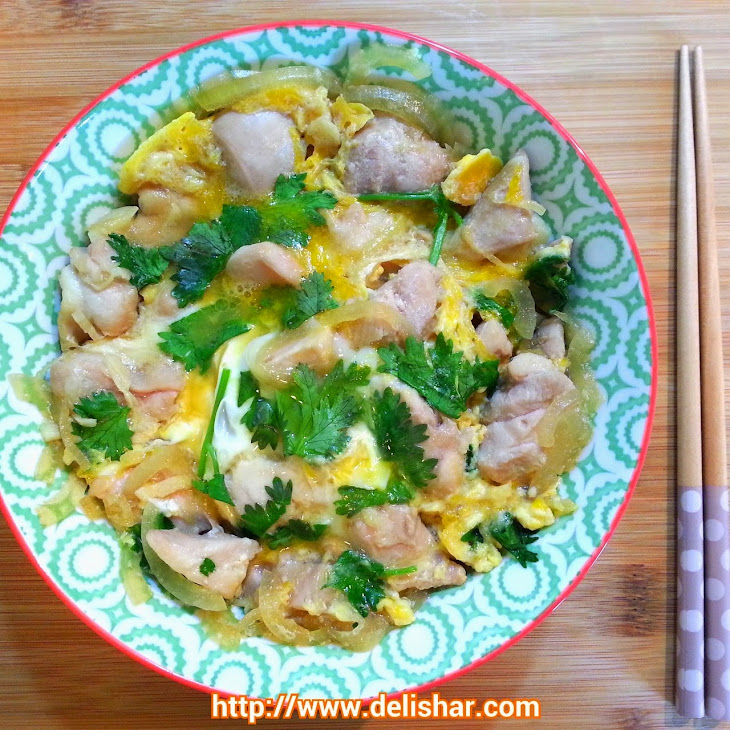 Oyakodon (Chicken and Egg Rice Bowl) Recipe | Yummly
