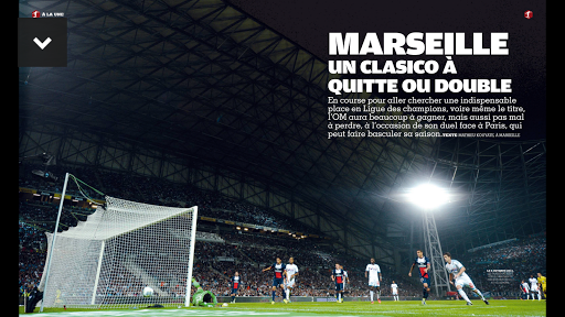 France Football le magazine - screenshot