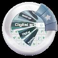 Download Digital art GO Keyboard APK