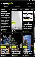 Screenshot of Appy Geek – Tech news