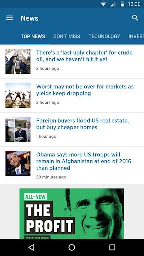 CNBC: Breaking Business News & Live Market Data screenshot 4