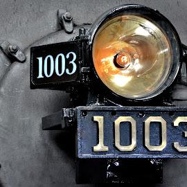 Soo Line 1003 Steam Locomotive by Erin Czech - Transportation Trains ( steam engine, engine, hartford, train, light )