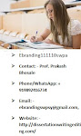 eBranding India is an Experts in Dissertation Writing services in Jaipur