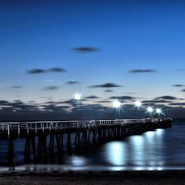 beach  by Fareez Salim - Landscapes Beaches ( australia, adelaide, beach )