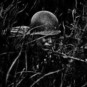 War by Hendrik Santoso Gutom - People Portraits of Men