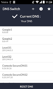 DNS Switch - Unlock Region Restrict APK screenshot thumbnail 1