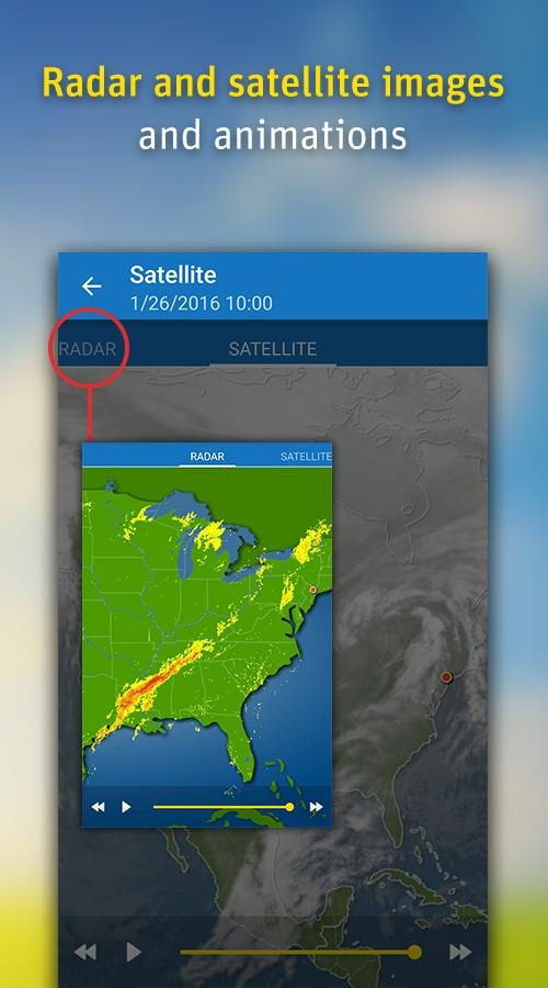 WeatherPro Screenshot 1
