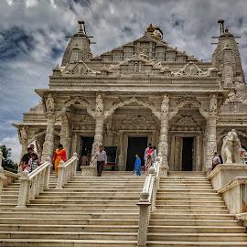 Jain temple by Adarsh KN - Buildings & Architecture Places of Worship ( temple, jainism )