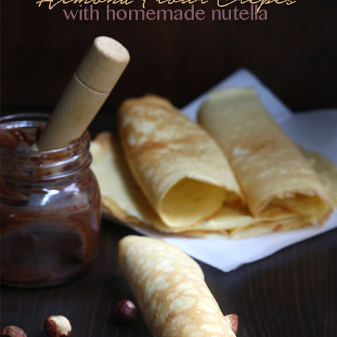 Almond Flour Cream Cheese Crepes