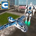 Flying Robot Bike Simulator APK for Bluestacks