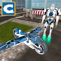 Flying Robot Bike Simulator For PC / Windows 7.8.10 / MAC