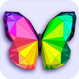 Poly art coloring pages - Color by number low poly For PC / Windows 7/8/10 / Mac – Free Download