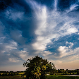 Tranquil  by Mike Hotovy - Landscapes Cloud Formations