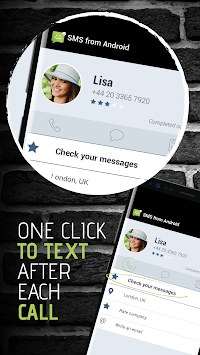 SMS From Android 4.4 APK screenshot thumbnail 1