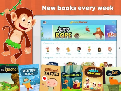 App Monkey Stories: children\'s books & reading games APK for Windows ...