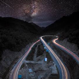 the circuit's lines by Henry Suwardi - Landscapes Mountains & Hills