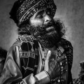 Deepness within by Maha Khan - People Street & Candids ( pakistan, black and white, candid, people, portrait )