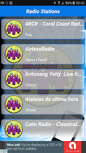 Radio Choral PRO+ - screenshot