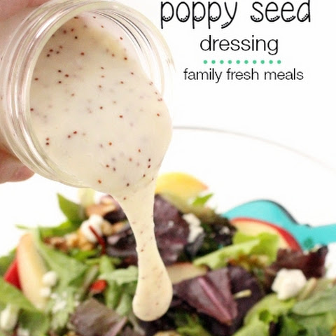 The Best Homemade Poppy Seed Dressing