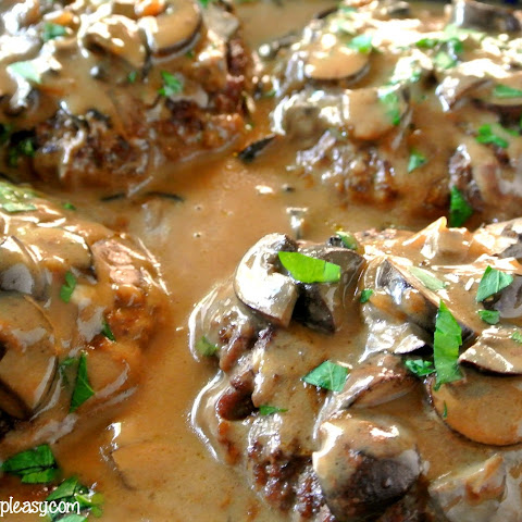 Deliciously Easy Salisbury Steak Bake