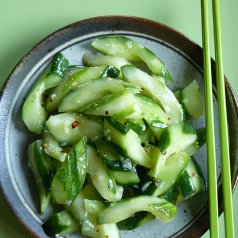 Chilled Cucumber with Garlic