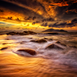 Golden Corner  by Dany Fachry - Landscapes Beaches